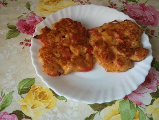 placuszki z piersi kurczaka 2