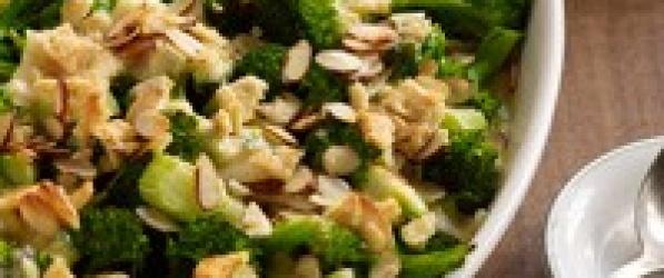 Zapiekanka brokułowo-serowa